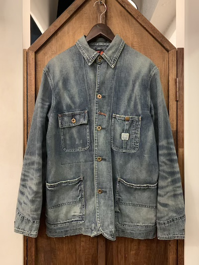 POLO RALPH LAUREN(ラルフローレン)DENIM CHORE JACKET/W NATIVE LINING