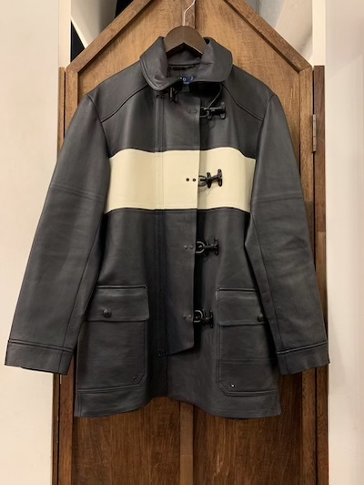 POLO RALPH LAUREN(ラルフローレン)LEATHER FIREMAN COAT
