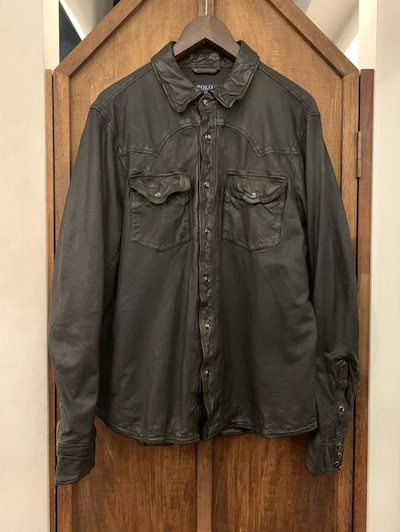 POLO RALPH LAUREN(ラルフローレン)WESTERN LEATHER SHIRTS JACKET