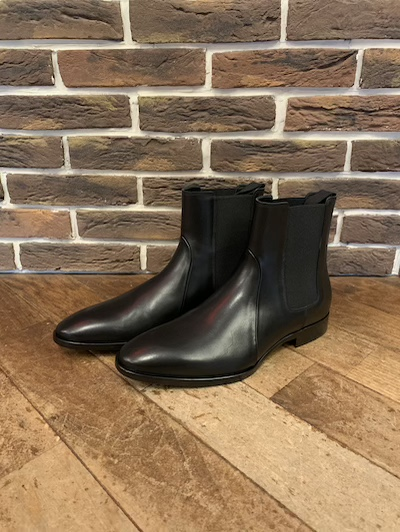 "POLO RALPH LAUREN(ラルフローレン)GARFORTH CHELSEA BOOTS""MADE IN ITALY"""