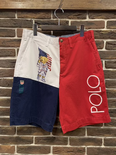"POLO RALPH LAUREN(ラルフローレン)EPOLO BEAR TEAM USA SHORTS""RELAXED FIT""(ポロベアーショーツ)"