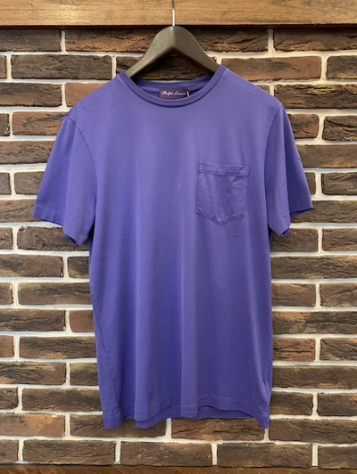 POLO RALPH LAUREN(ラルフローレン)GARMENTDYE POCKET TSHIRTS(ポケットTシャツ)