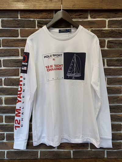 "POLO RALPH LAUREN(ラルフローレン)""POLO SPORTS""YACHT L/S TSHIRTS(""ポロスポーツ""Tシャツ)"
