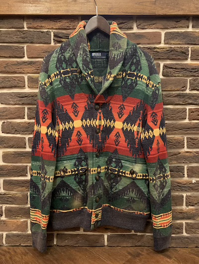 POLO RALPH LAUREN(ラルフローレン)-1 STYLE NATIVE SWEATER JACKET