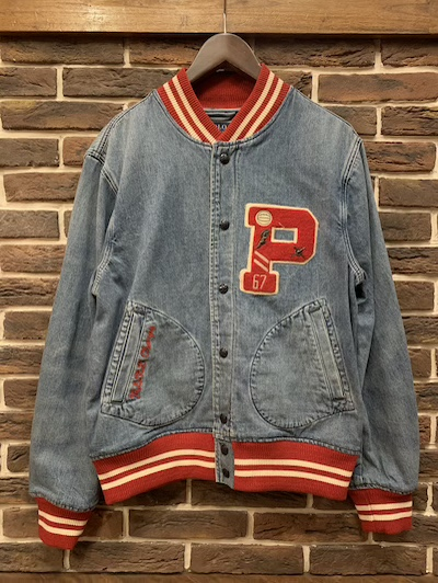 POLO RALPH LAUREN(ラルフローレン)DENIM VARSITY JACKET