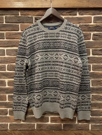 POLO RALPH LAUREN(ラルフローレン)CASHMERE BLEND FAIRISLE SWEATER