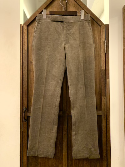 POLO RALPH LAUREN(ラルフローレン)CASHMERE BLEND CORDUROY TROUSER MADE IN ITALY