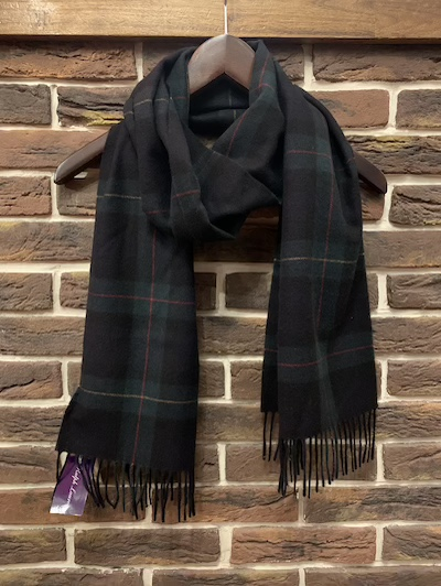 "POLO RALPH LAUREN(ラルフローレン)100%CASHMERE SCARF""BLACKWATCH MADE IN ENGAND"""