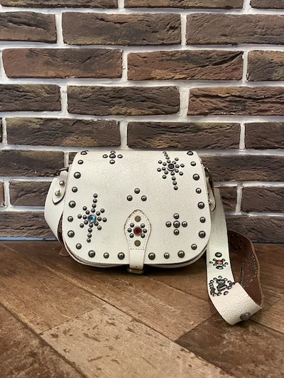 POLO RALPH LAUREN(ラルフローレン)STUDDED LEATHER SMALL CROSSBODY