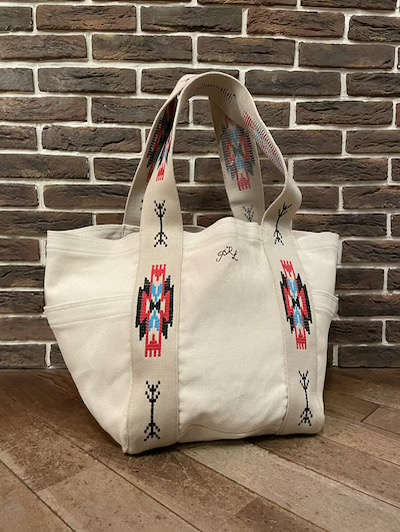 POLO RALPH LAUREN(ラルフローレン)CANVAS EMBROIDERED TOTE