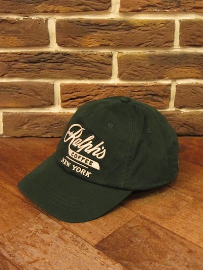 RALPH LAUREN(ポロ ラルフローレン)RALPH'S COFFEE CAP(RALPH'S COFFEEキャップ)