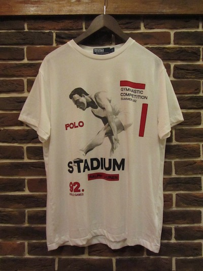 "POLO RALPH LAUREN(ラルフローレン)""STADIUM COLLECTION""GYMNASTIC TSHIRTS(スタジアムTシャツ)"