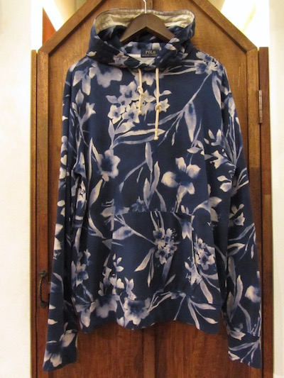 POLO RALPH LAUREN(ラルフローレンIFLORAL COTTON TERRY HOODIE(花柄フレンチテリーパーカー)