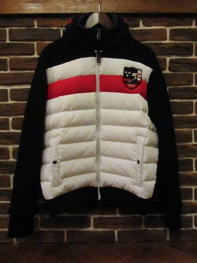 "POLO RALPH LAUREN(ラルフローレン)DOWNHILL SKI 2in1 SWEATER JACKET(""SKI""セータージャケット)"