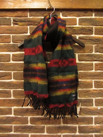 POLO RALPH LAUREN(ラルフローレン)NATIVE SCARF MADE IN ITALY(ネイティブ柄ウールスカーフ)