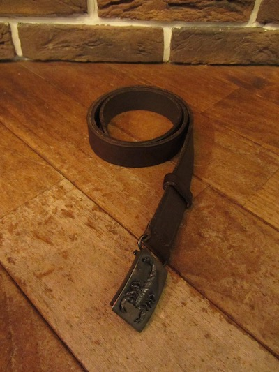 POLO RALPH LAUREN(ラルフローレン)ENGINE TUNED LEATHER BELT(レザーベルト)