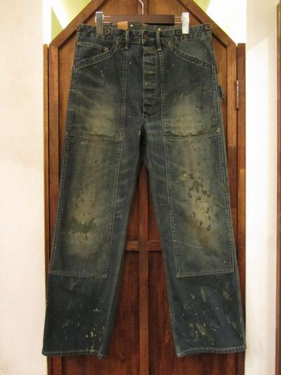 RRL (ダブルアールエル)ROBERTSON CARPENTER DENIM PANTS