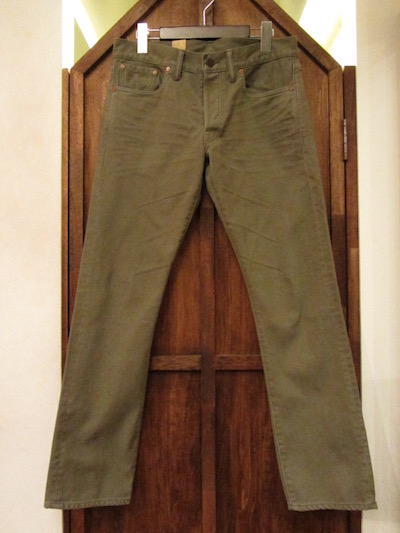 "RRL (ダブルアールエル)""BEDFORD CORD""PIQUE TROUSER SLIM FIT ""CHARCOAL KAHKI""(ピケトラウザー""スリムフィット"")"