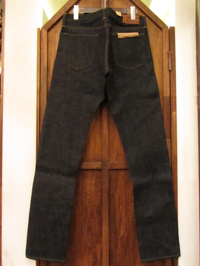 "RRL (ダブルアールエル)SLIM NARROW RIGID DENIM PANTS""EAST WEST DENIM ""(EAST WESTデニム""スリムナロー"")"