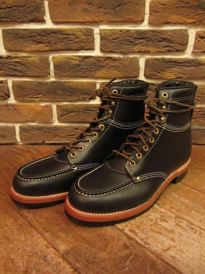 "RRL (ダブルアールエル)""NEW CLIFTON"" BOOTS(モックトゥブーツ)"