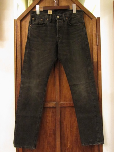 "RRL (ダブルアールエル)DENIM PANTS SLIM NARROW""DUSTY BLACK WASH""(スリムナローデニム""DUSTY BLACK WASH"")"