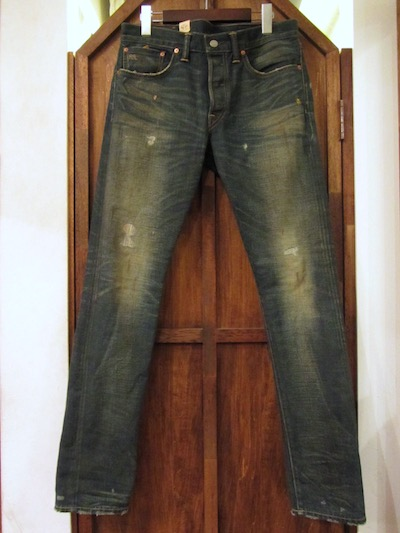 "RRL (ダブルアールエル)DENIM PANTS SLIM NARROW""NEVADA WASH""(スリムナローデニム""NEVADA WASH"")"