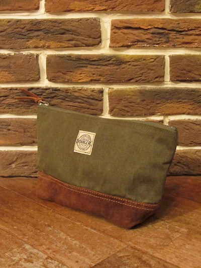 RRL (ダブルアールエル)CANVAS SUEDE POUCH(キャンバススウェードポーチ)