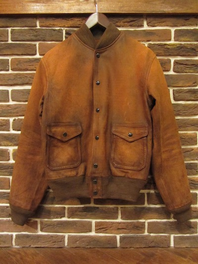 RRL (ダブルアールエル)A1 TYPE SHEEPLEATHER JACKET(A1シープレザージャケット)