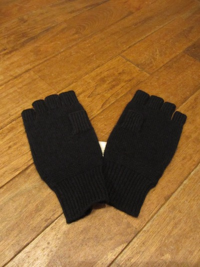 "RRL (ダブルアールエル)""100%CASHMERE"" KNIT GLOVE""NAVY"