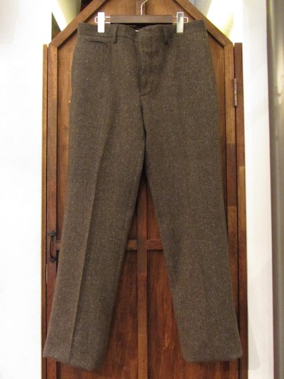 "RRL (ダブルアールエル)TWEED TROUSER""MADE IN ITALY""(ツイードトラウザー)"