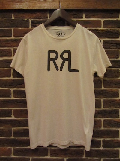 "RRL (ダブルアールエル)LOGO TEE WHITE "" MADE IN USA""#3(アメリカ製ロゴTシャツ)"