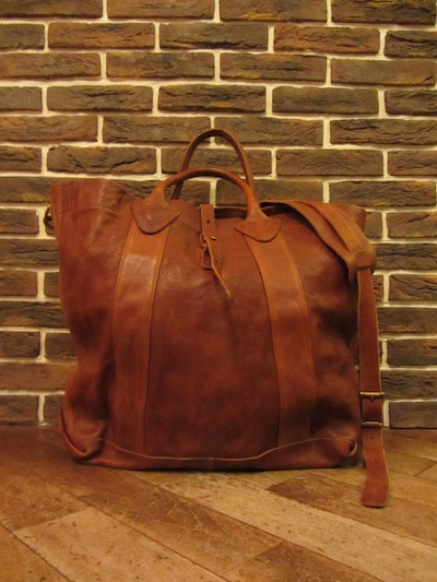RRL (ダブルアールエル)VINTAGE MODEL LEATHER TOTE(レザートートバッグ)