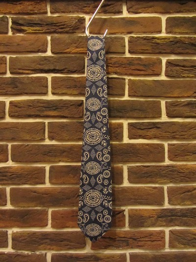 "RRL (ダブルアールエル)PAISLEY SILK TIE""HAND MADE ITALY""(ペイズリー柄シルクネクタイ)"