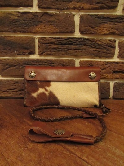 "RRL (ダブルアールエル)"" HAIR ON HIDE""SURVEYOR WALLET#4("