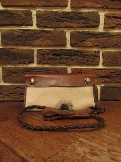 "RRL (ダブルアールエル)"" HAIR ON HIDE""SURVEYOR WALLET#5("