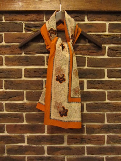 "RRL (ダブルアールエル)FLORAL SCARF""MADE IN JAPAN""(フローラルプリントスカーフ)"