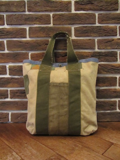 RRL (ダブルアールエル)ARTISAN MADE CANVAS AVIATOR FLIGHT TOTE BAG(スモールトート)