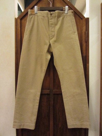 "RRL (ダブルアールエル)""BEDFORD CORD""PIQUE TROUSER""NATURAL""(ピケトラウザー""ナチュラル"")"