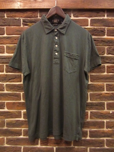 RRL (ダブルアールエル)S/S POCKET POLO SHIRTS SPRUCE(ポケットポロシャツ)