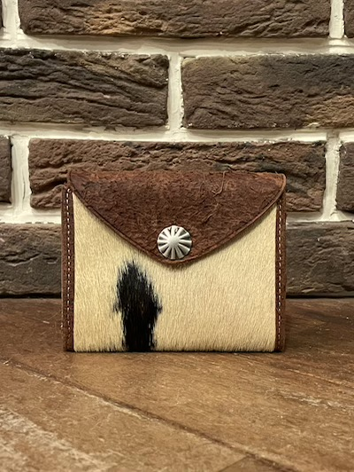 "RRL (ダブルアールエル)"" HAIR ON HIDE""CONCHO WALLET #1"