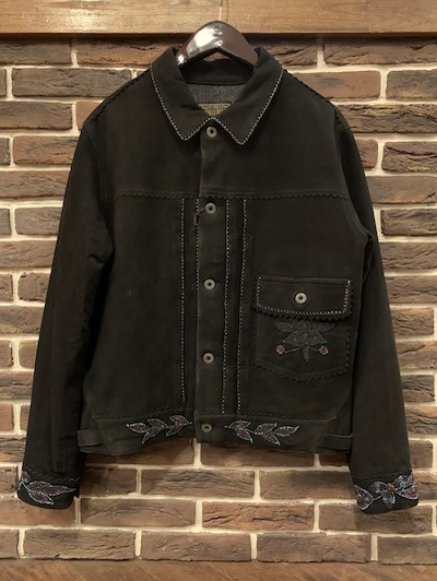 RRL (ダブルアールエル)ISHEEP SUEDE TRUCK JACKET