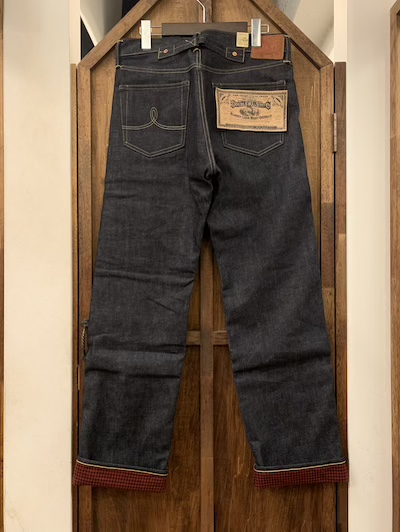 RRL (ダブルアールエル)STRAIGHT FIT BUCKLEBACK LINED JEANS #1 W32?W34