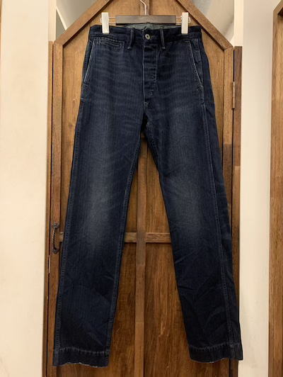 RRL (ダブルアールエル)INDIGO MALLOY WORK PANTS(HBTワークパンツ)