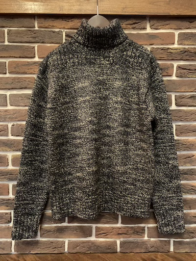 RRL (ダブルアールエル)MARLED COTTON-BLEND TURTLENECK SWEATER