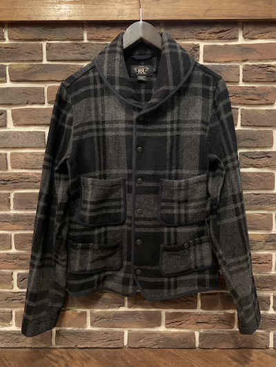 RRL (ダブルアールエル)SHAWL COLLAR WOOL JACKET