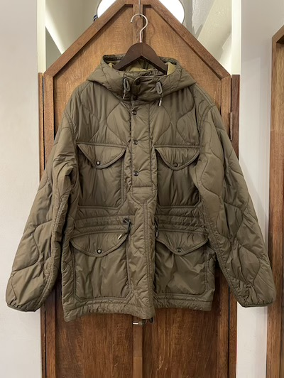 "RRL (ダブルアールエル)""PACKABLE""BUCKLAND POPOVER JACKET"