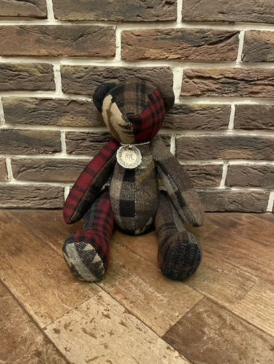 RRL (ダブルアールエル)WOOL PATCHWORK BEAR 100LIMITED